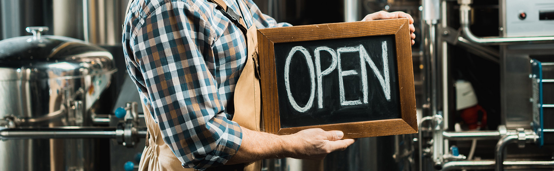 Small Business Open for Business