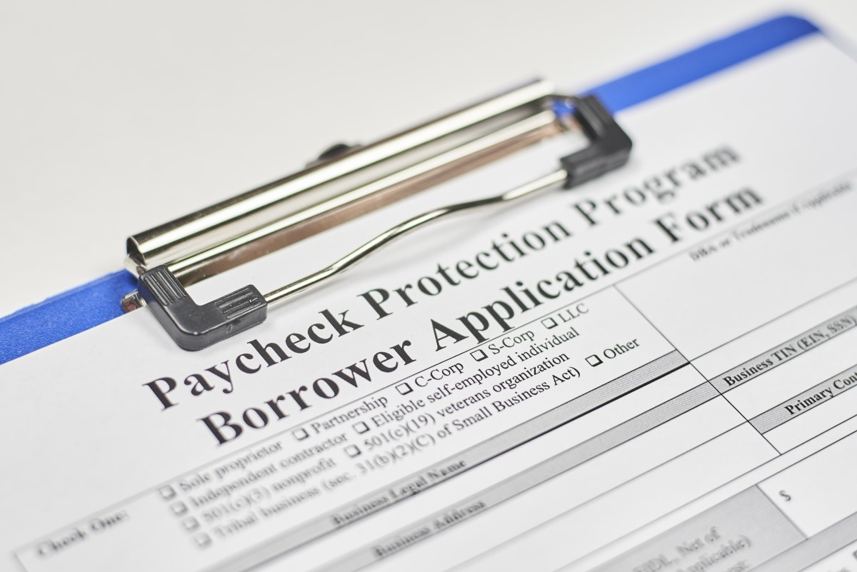 Paycheck Protection Program Application, PPP