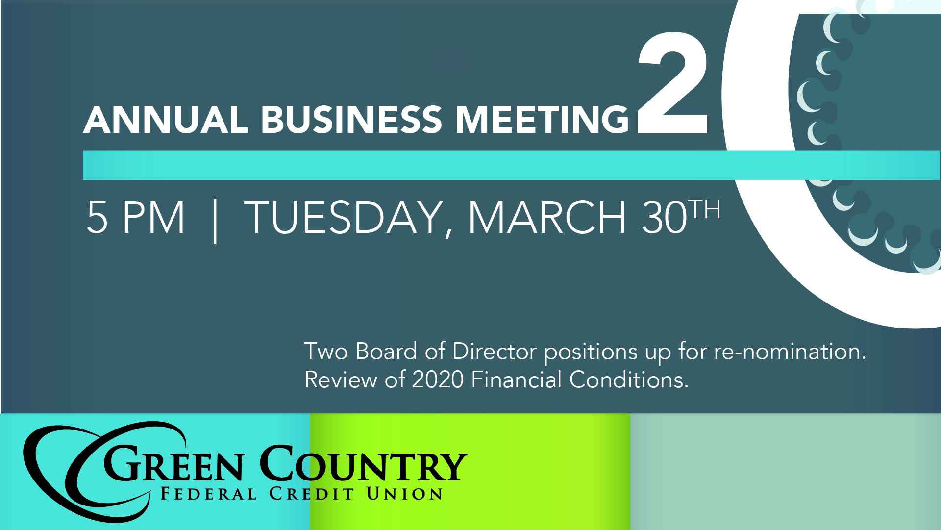2020 Board of Directors Annual Business Meeting