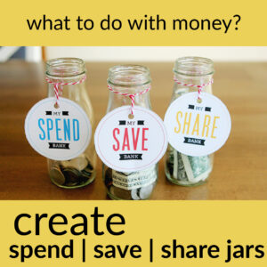 tips for teaching kids good money habits what to do with money