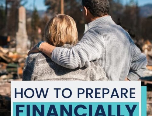 Financial preparation before a natural disaster