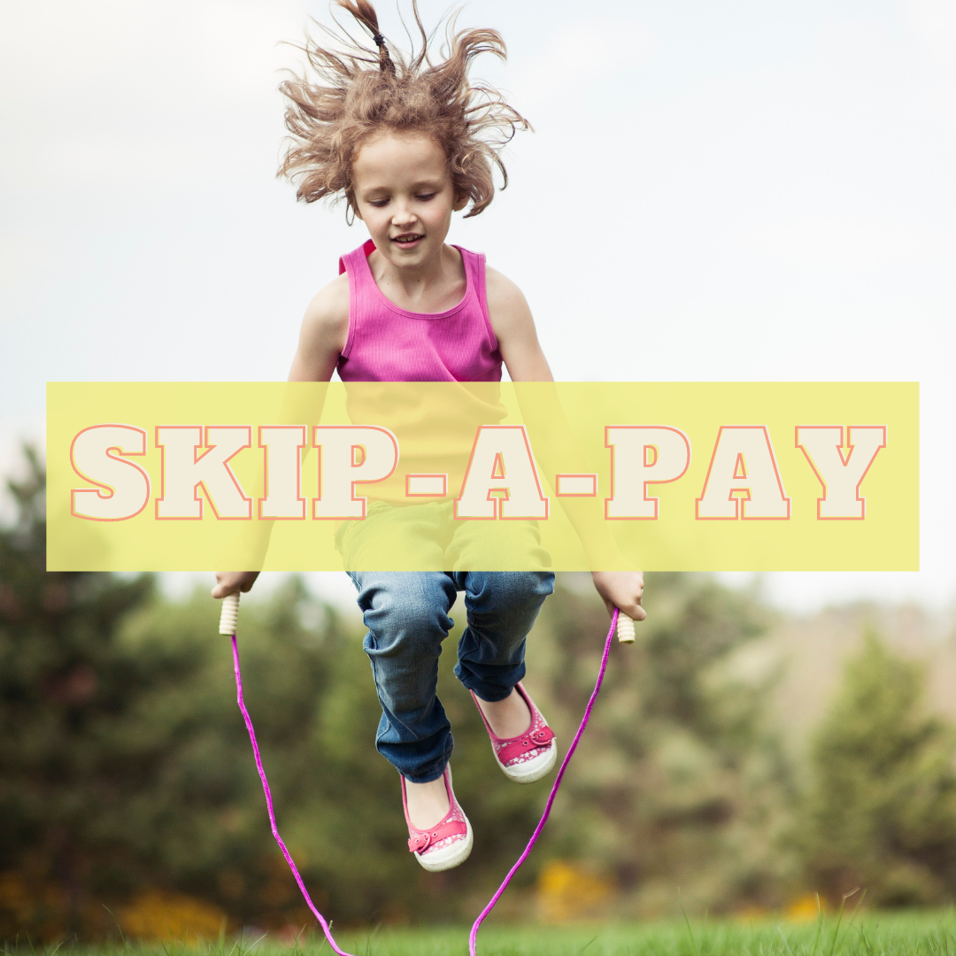 Skip your July or August Loan Payment - Skip-a-Pay, a great perk of being a Green Country member.