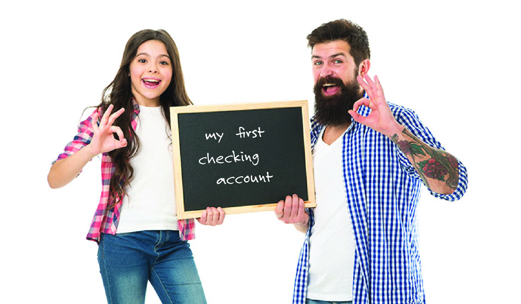 Teach Kids Good Money Habits with their first checking account